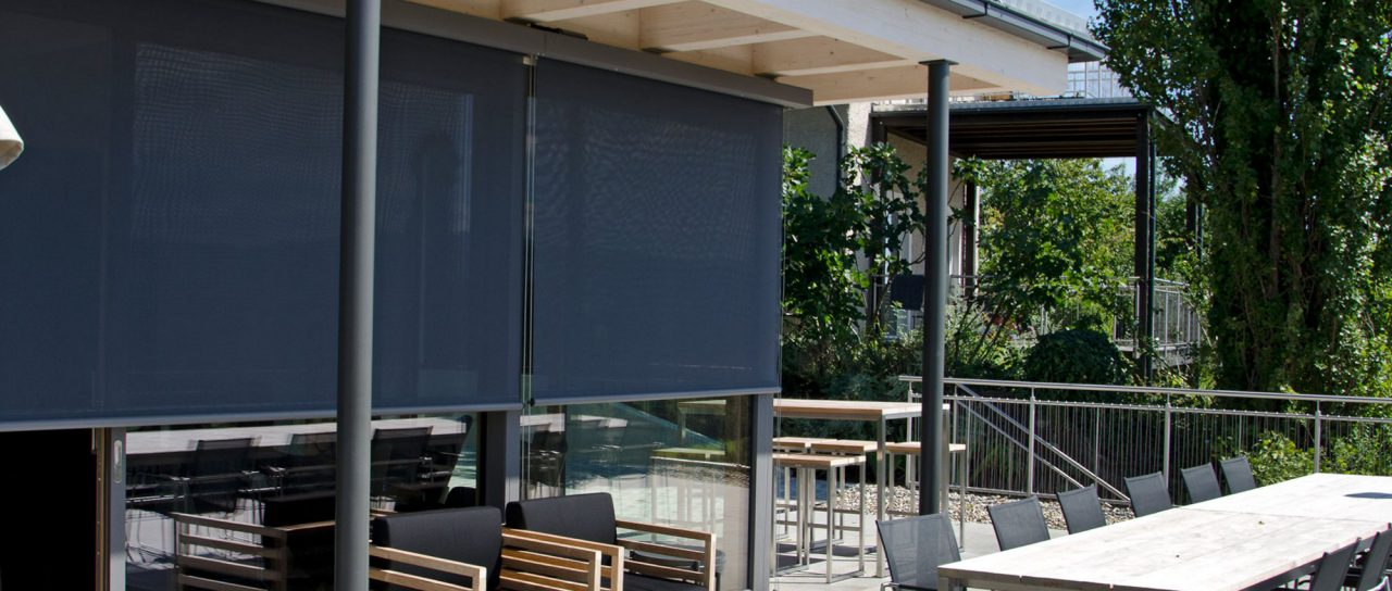 External Motorised Fabric Blinds and Screens
