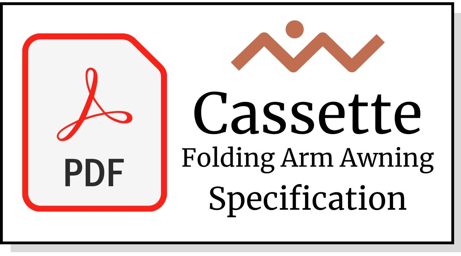 Cassette Folding Arm Awning