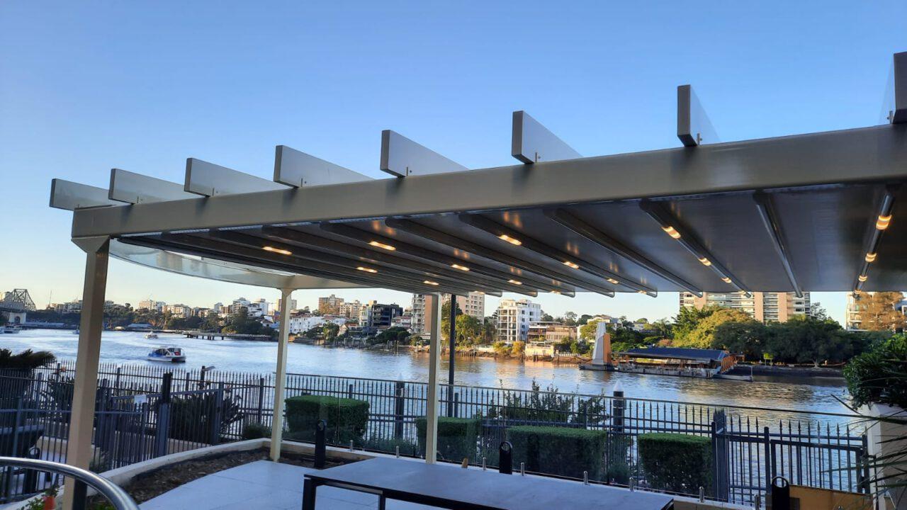 retractable motorised Awning Brisbane