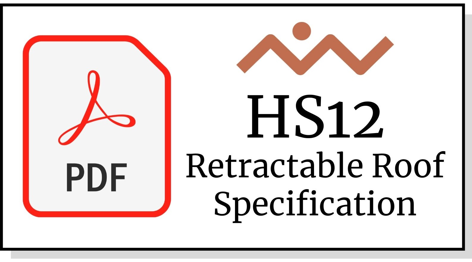 HS12 Retractable Roof Awning Specification