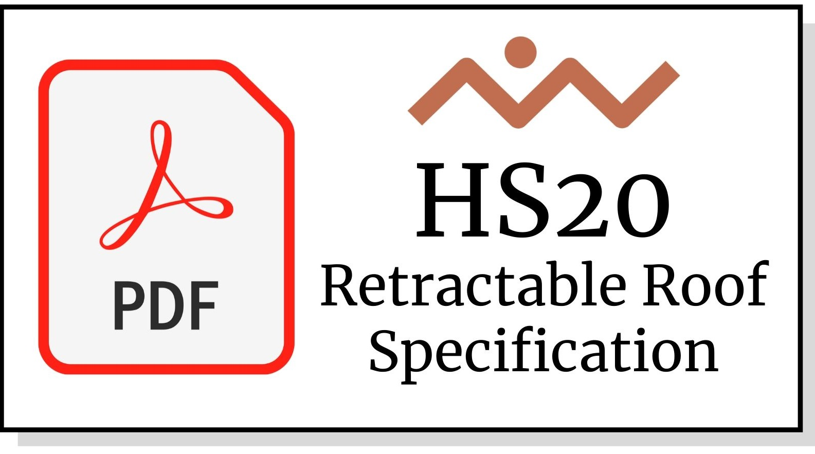 HS20 Retractable Roof Awning