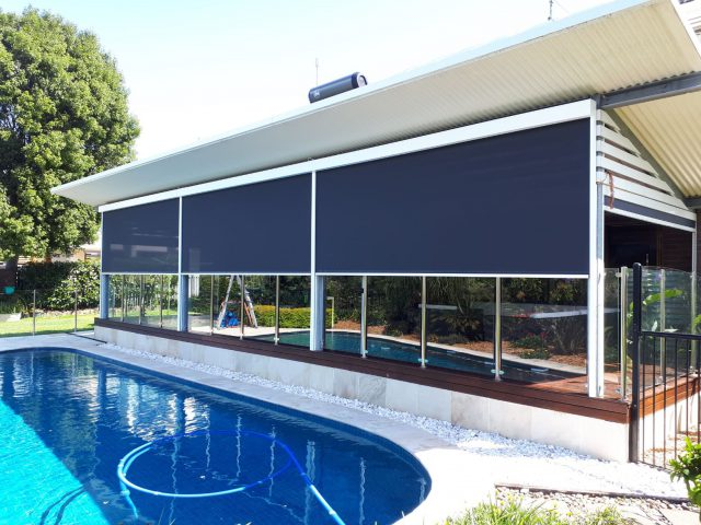 external blinds brisbane Residential Awnings