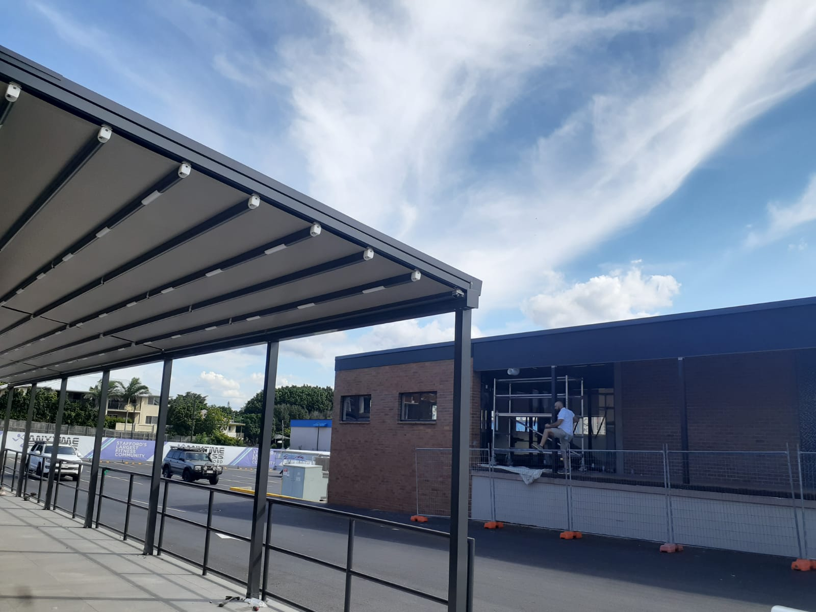 Stafford Road Brisbane - Retractable Roof - Awning Worx