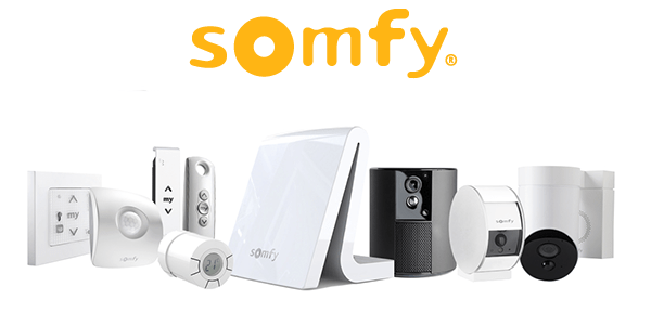 Somfy Solar controls blinds and awnings