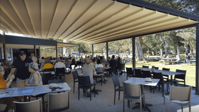 Retractable Roof Awning