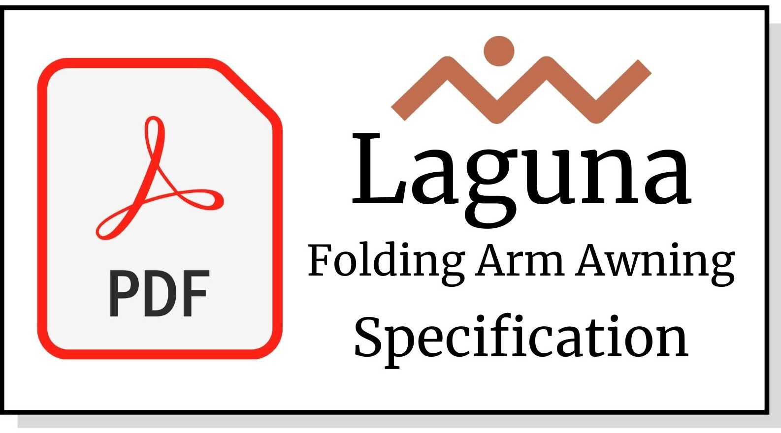 Laguna folding arm awning brisbane